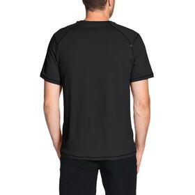 VAUDE Hallett - Camiseta manga corta Hombre - negro
